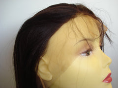 Synthetic Lace front wig by Pretty Loxx Colour 2 yaki 18""