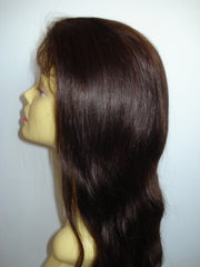 "Malaysian virgin Refurbished Silk Top Lace Wig by Pretty Loxx Colour 1b 16"" long 002 - PrettyLoxx"