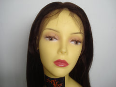 "Pretty Loxx Indian Remy Hair Silk Top Full Lace Wig 12"" col 4 SALE - PrettyLoxx"