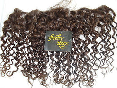 "Pretty Loxx Indian Remy Lace Frontal Curly 12"" 14"" 16"" 18"" all colours - PrettyLoxx"
