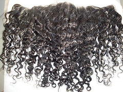 "Pretty Loxx Indian Remy Lace Frontal Afro Wave 12"" Colour 1 - PrettyLoxx"