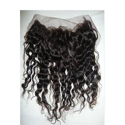 "Pretty Loxx Indian Remy Lace Frontal Tight Wave 12"" 14"" 16"" 18"" col 1,1b, 2"