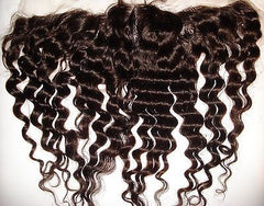 "Pretty Loxx Indian Remy Lace Frontal Tight Wave 12"" 14"" 16"" 18"" col 1,1b, 2 - PrettyLoxx"