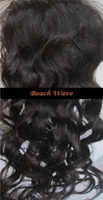 Pretty Loxx Indian Remy Lace Closure Beach Wave all colours and lengths avail