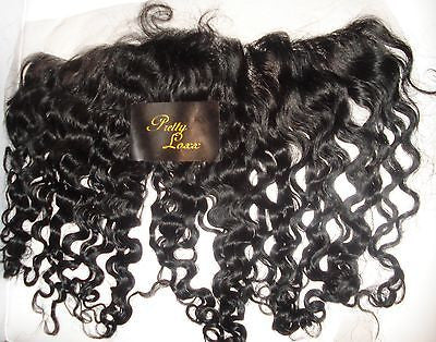 "Pretty Loxx Indian Remy Lace Frontal Curly 12"" 14"" 16"" 18"" all colours"