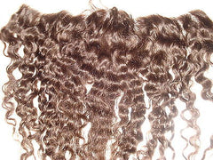 "Pretty Loxx Indian Remy Afro/Yaki Wave Lace Frontal, 12"" Col 2 - PrettyLoxx"
