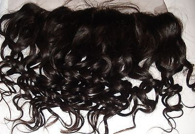 "Pretty Loxx Indian Remy Lace Frontal Curl 33 12"" 14"" 16"" 18"" col 1,1b, 2"