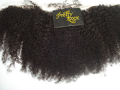 Pretty Loxx Indian Remy Lace Frontal Afro Curl all colours and lengths