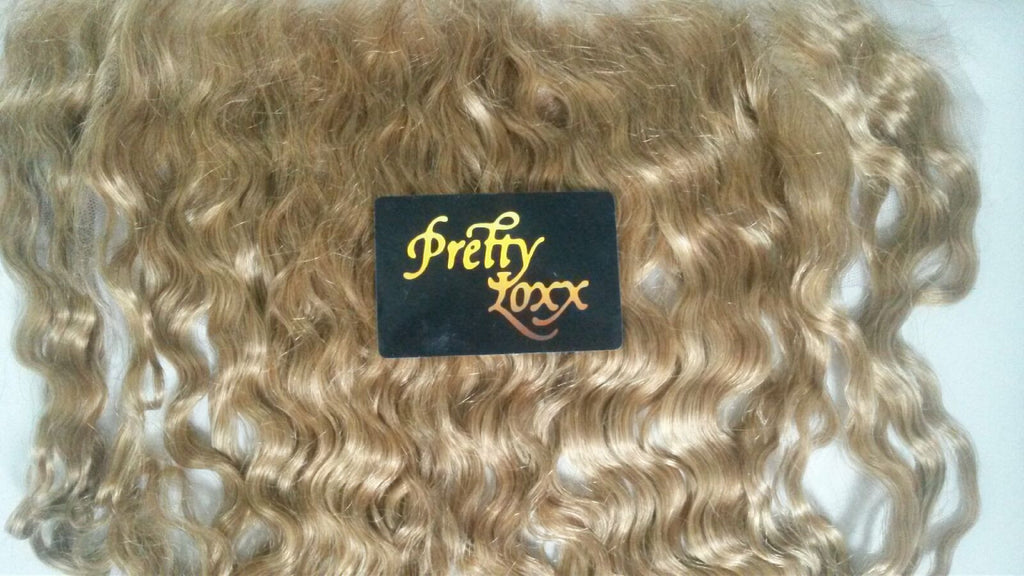 "PrettyLoxx 14"" Indian remy frontal - PrettyLoxx"