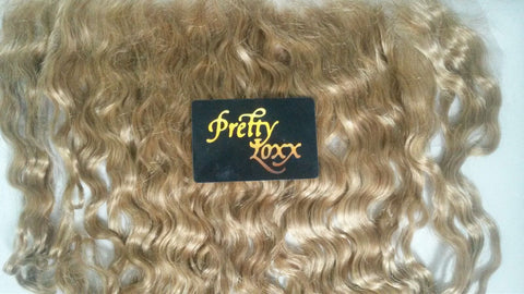 "PrettyLoxx 14"" Indian remy frontal"