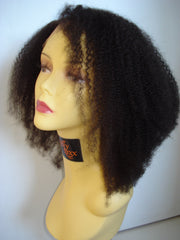 Pretty Loxx Indian Remy Afro Curl Full Lace Unit - PrettyLoxx