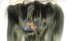 PrettyLoxx SILK TOP Burmese Virgin Lace Frontal Natural Straight - PrettyLoxx