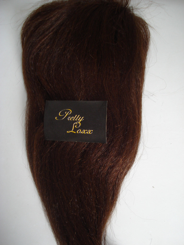 Pretty Loxx Coarse Yaki Brazilian Virgin Lace Frontal - PrettyLoxx
