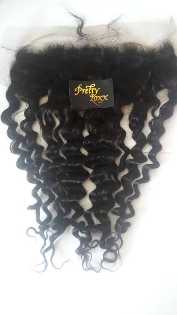 "PRETTY LOXX 18"" Deep Wave INDIAN REMY FRONTAL COL 1b - PrettyLoxx"