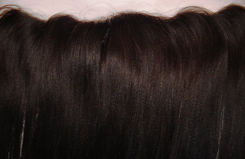 "12"" YAKI STRAIGHT INDIAN REMY FRONTAL COL 1b"