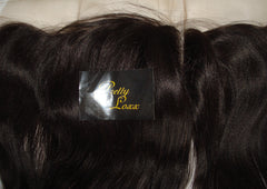 "12"" YAKI STRAIGHT INDIAN REMY FRONTAL COL 1b - PrettyLoxx"