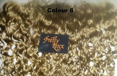 PrettyLoxx Indian Remy Lace Frontal Spiral Curl with/without adjustable headband - PrettyLoxx