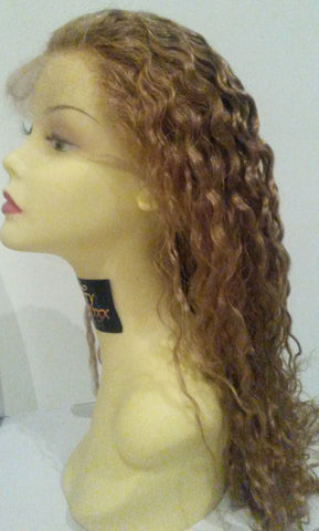 Pretty Loxx Indian Remy Tight Wave Full Lace Wig