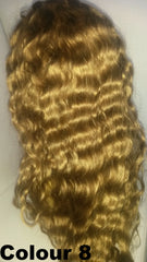 Pretty Loxx Indian Remy Sassy Wave Full Lace Wig