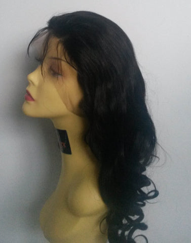 Pretty Loxx Indian Remy Glamour Curl Full Lace Wig