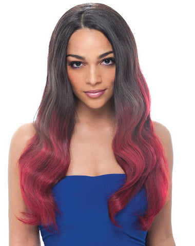Janet Brazilian Virgin Natural Body Lace Front Wig
