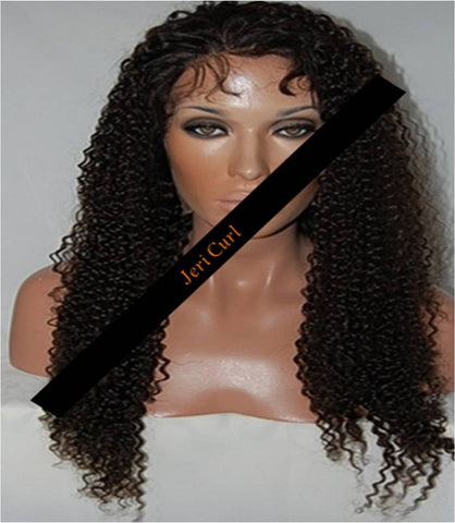 Pretty Loxx Indian Remy Jeri Curl Full Lace Wig