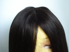 "Refurbished Indian Remy Full Lace unit by Pretty Loxx Colour 1b 18"" long - PrettyLoxx"