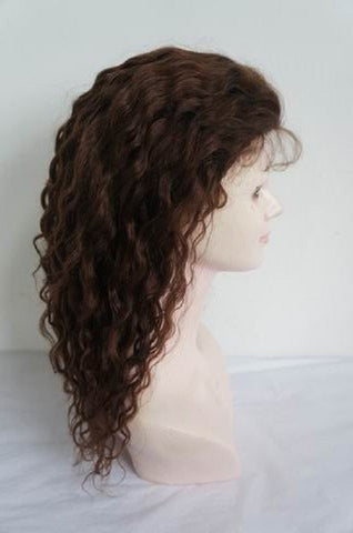 "Refurbished Wavy Indian Remy Full Lace unit by Pretty Loxx Colour 2 16"" long"
