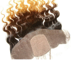 PrettyLoxx SILK TOP Lace Frontal Brazilian Ombre Body Wave - PrettyLoxx