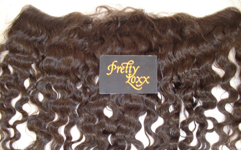 "PRETTY LOXX 12""  S CURL INDIAN REMY FRONTAL COL 1B"