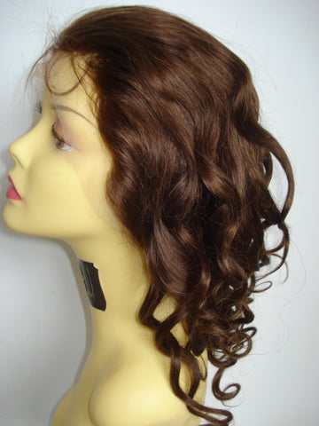 Pretty Loxx Indian Remy Spring Curl Full Lace Unit