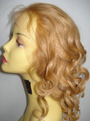 PrettyLoxx Indian Remy Spring Curl Silk Top Full Lace Wig - PrettyLoxx