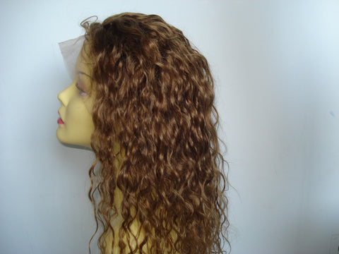 "Pretty Loxx Indian remy Full Lace Wig 16"" col 6"