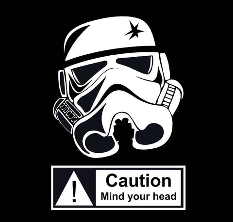 Star Wars: Stormtrooper, Mind Your Head! - Bad Wolf Clothes