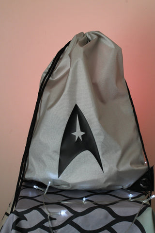 Star Trek Gym Bag - Running Club GymSack - Star Trek Gym Bag - Bad Wolf Clothes