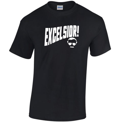 Stan Lee: Excelsior T-Shirt - Bad Wolf Clothes