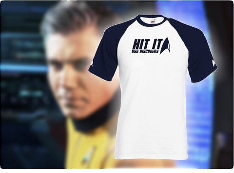 Star Trek Discovery T-Shirt - 'Hit It' - Captain Pike