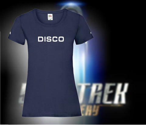 Lady Fit Star Trek Discovery: DISCO Tee shirt. - Bad Wolf Clothes
