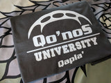 Star Trek - Klingons - Qo'noS University T-shirt