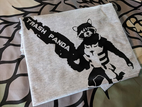 Rocket Raccoon - Guardians of the Galaxy -  Trash Panda printed Tee Shirt - Bad Wolf Clothes