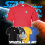 Star Trek the Next Generation Embroidered T Shirt – Loads of options