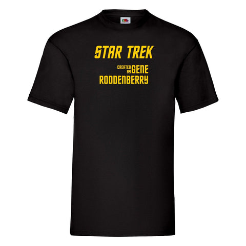 Star Trek T-shirt - Created by Gene Roddenberry