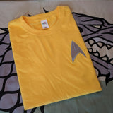 Star Trek - Starfleet Embroidered T-Shirts