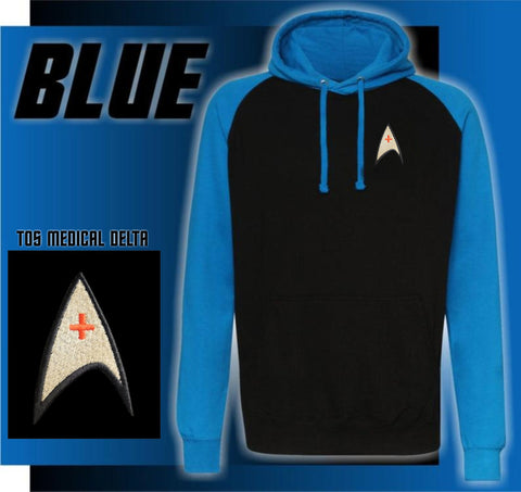 Star Trek Hoodie - Medical Logo