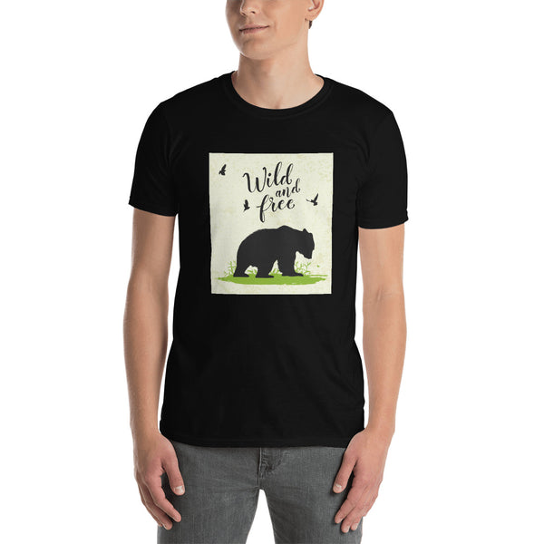 Wild and Free Short-Sleeve Unisex T-Shirt