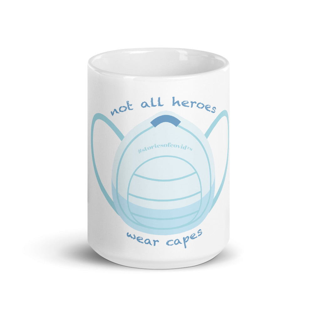 Not All Heroes Large Mug