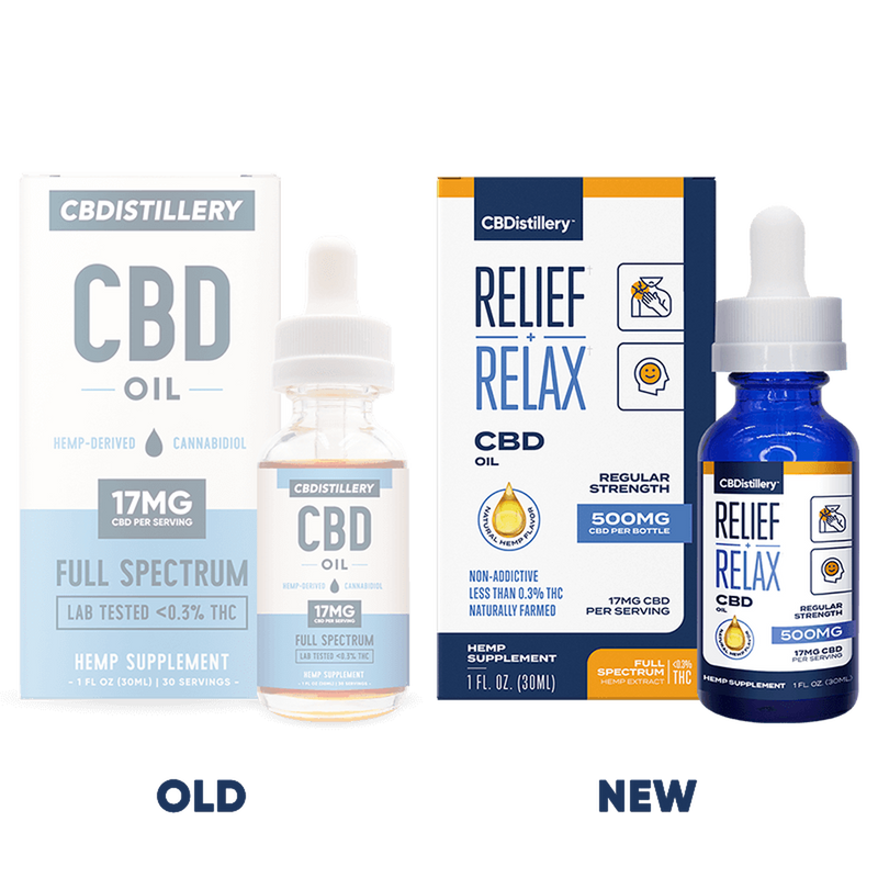 CBDistillery : 500mg Full Spectrum CBD 30ml