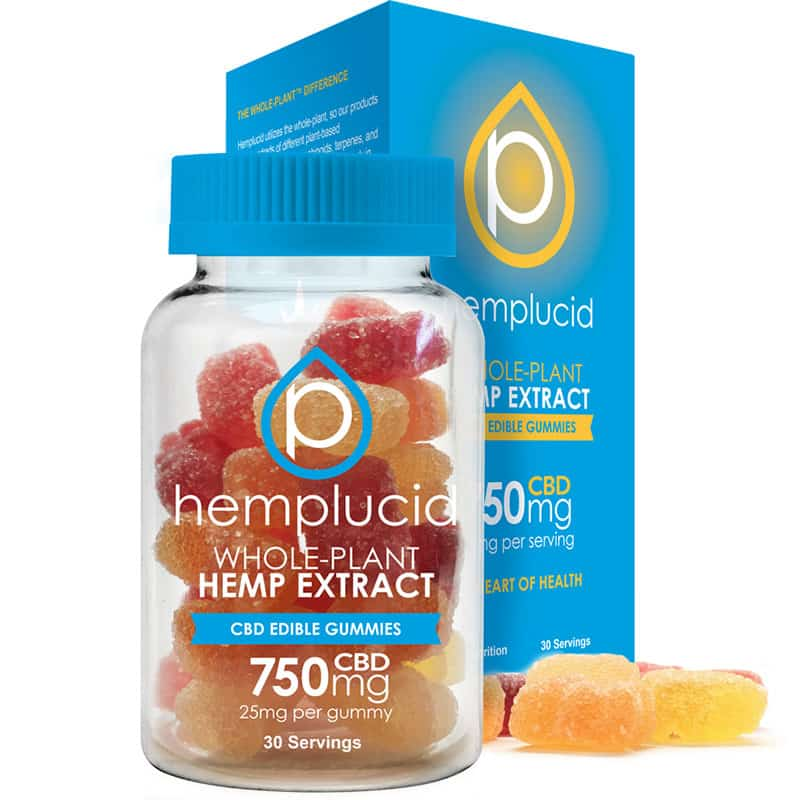 Hemplucid : Edible Gummies 30 Count