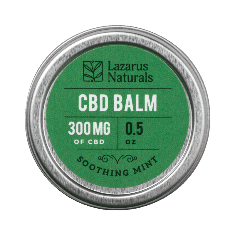 Lazarus Naturals : Soothing Mint Full Spectrum CBD Balm