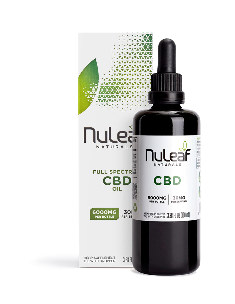 NuLeaf : 4850mg Full Spectrum CBD Oil, High Grade Hemp Extract (30mg/ml)